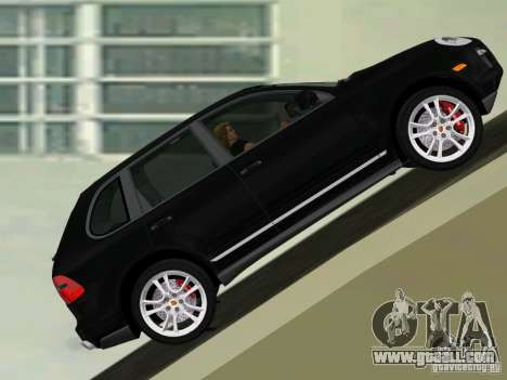 Porsche Cayenne Turbo S for GTA Vice City left view