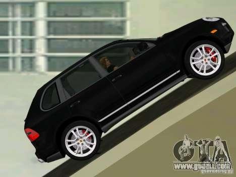 Porsche Cayenne Turbo S for GTA Vice City left view