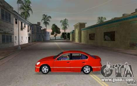 Lexus GS430 for GTA Vice City left view