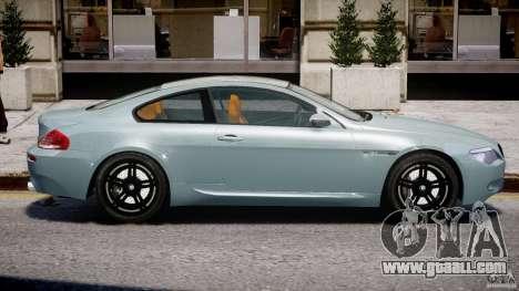 BMW M6 G-Power Hurricane for GTA 4 side view