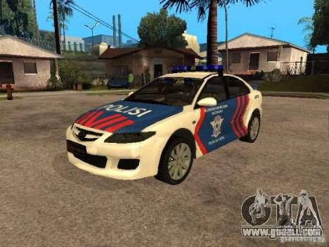 Mazda 6 Police Indonesia for GTA San Andreas