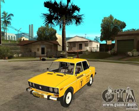 VAZ 2106 Taxi for GTA San Andreas
