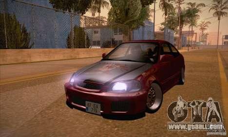 Honda Civic Tuning 2012 for GTA San Andreas