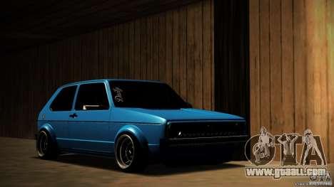 Volkswagen Golf Mk1 Euro for GTA San Andreas