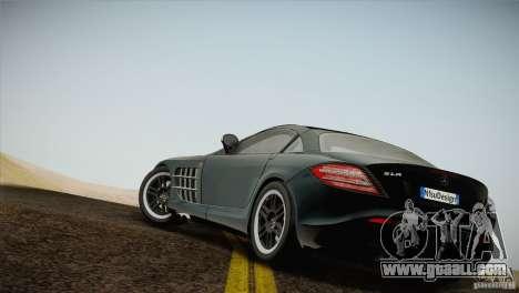 Mercedes SLR McLaren 722 Edition Final for GTA San Andreas left view