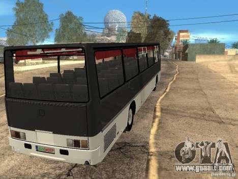 Ikarus Z50 for GTA San Andreas inner view