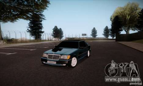 Mercedes-Benz 600SEL AMG 1993 for GTA San Andreas