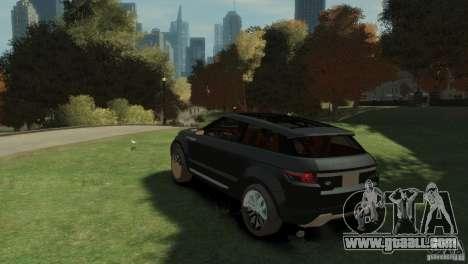 Land Rover Rang Rover LRX Concept for GTA 4 left view