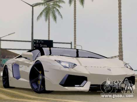 Lamborghini Aventador LP700-4 Vossen for GTA San Andreas