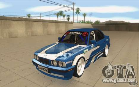 BMW E34 V8 for GTA San Andreas