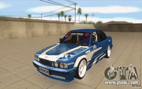 BMW E34 V8 for GTA San Andreas