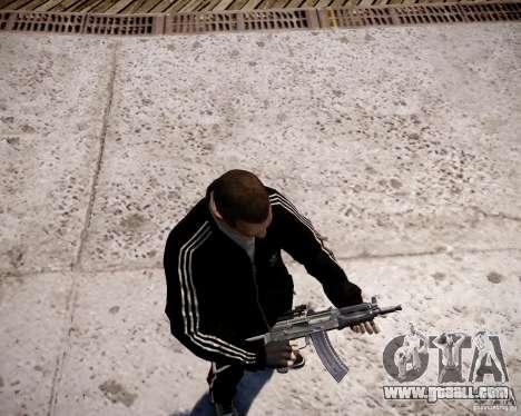 AKS-74U for GTA 4 sixth screenshot