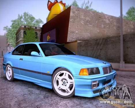 BMW M3 E36 1995 for GTA San Andreas side view