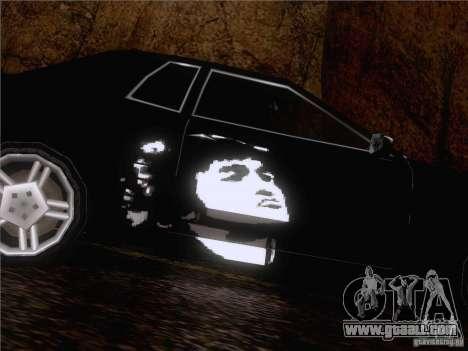 Vinyl Viktor Tsoi for GTA San Andreas right view