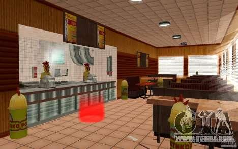 Cafe Rostics for GTA San Andreas second screenshot