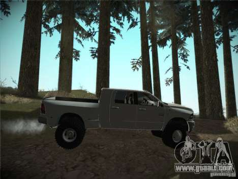 Dodge Ram 3500 4X4 for GTA San Andreas right view