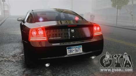 Dodge Charger RT Hemi FBI 2007 for GTA 4 side view