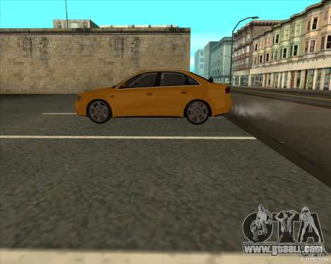 AUDI S4 Sport for GTA San Andreas back view