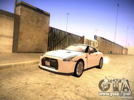 Nissan GT-R for GTA San Andreas