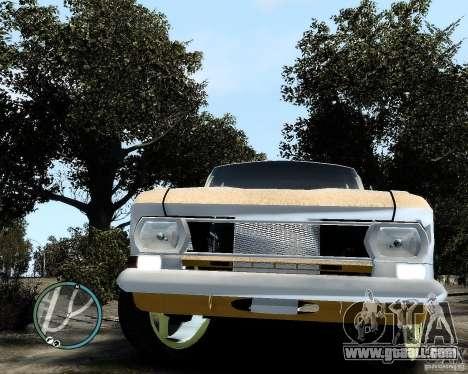 Moskvič 412 Street Racer [Alpha] for GTA 4 back view