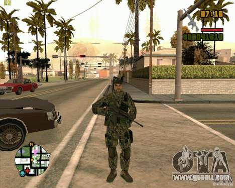 New soldiers for GTA San Andreas second screenshot