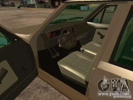 Fiat Ritmo for GTA San Andreas back left view