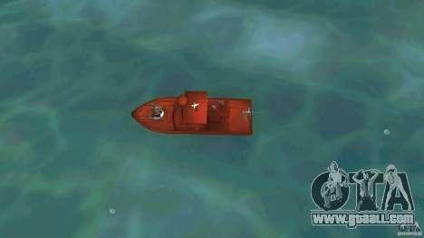 Patrol Boat River Mark 2 (Player_At_Guns) for GTA Vice City right view