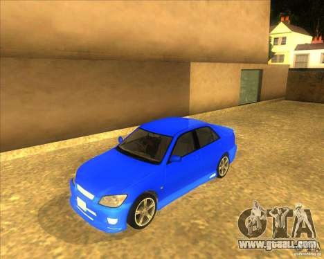 Toyota Altezza RS200 1998 for GTA San Andreas
