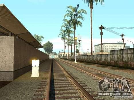 Railway traffic lights 2 for GTA San Andreas