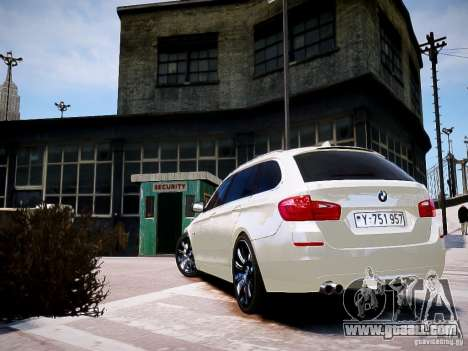 BMW 525i Touring for GTA 4 left view
