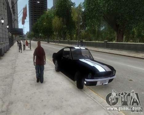 Ford Mustang Tokyo Drift for GTA 4 left view
