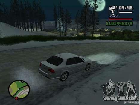 Winter Mod for GTA San Andreas third screenshot