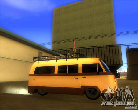 Volkswagen Kombi Classic Retro for GTA San Andreas left view