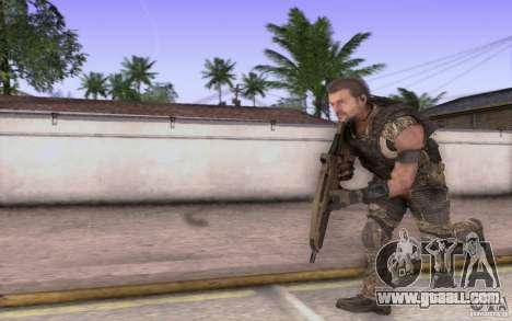 HK XM8 eotech for GTA San Andreas forth screenshot