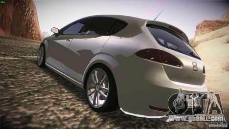 Seat Leon Cupra for GTA San Andreas right view