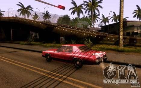 Dodge Monaco for GTA San Andreas left view