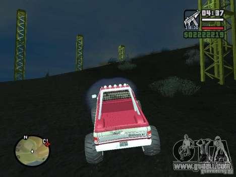 Monster tracks v1.0 for GTA San Andreas second screenshot