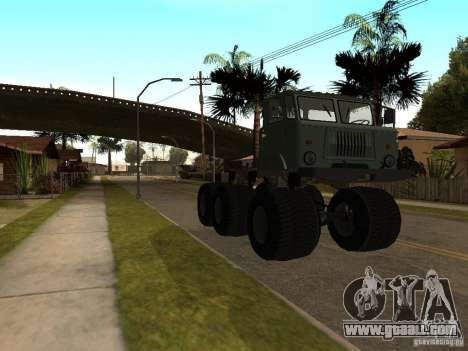 GAZ 66 Saiga for GTA San Andreas left view