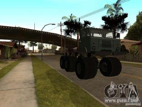 GAZ 66 Saiga for GTA San Andreas left view