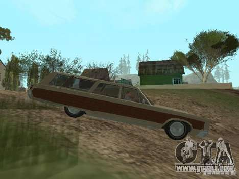 Chrysler Town and Country 1967 for GTA San Andreas left view