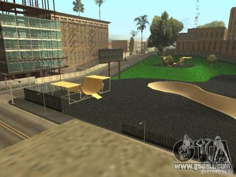 The new velopark in LS for GTA San Andreas third screenshot