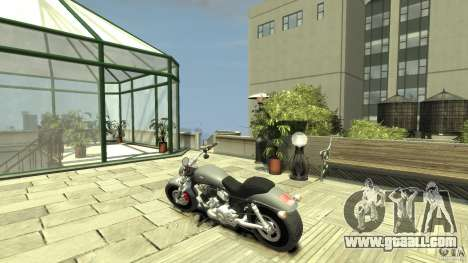 Harley Davidson V-Rod (ver. 0.1 beta) HQ for GTA 4 back left view