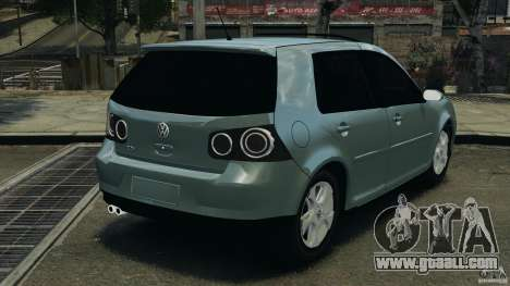 Volkswagen Golf Sportline 2011 for GTA 4 back left view