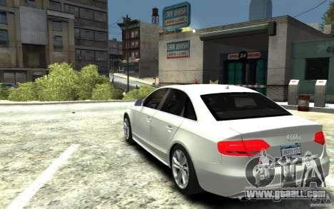 Audi S4 2010 v.1.0 for GTA 4 back left view