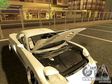 Toyota MR-S for GTA San Andreas back left view