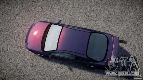 Chevrolet Cobalt SS for GTA 4 inner view