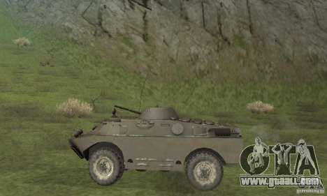 BRDM-2 winter version for GTA San Andreas back left view