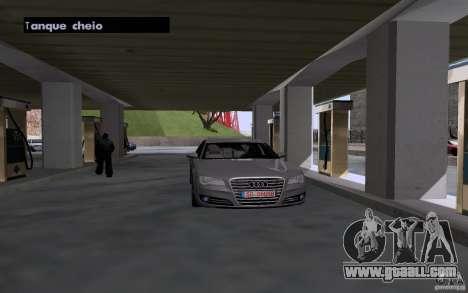 Tanker car at gas station for GTA San Andreas third screenshot