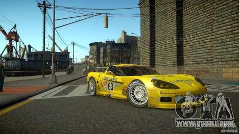 Chevrolet Corvette C6-R v2.0 for GTA 4 left view