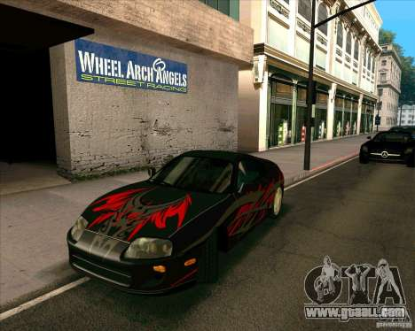 Toyota Supra NFS Most Wanted for GTA San Andreas right view